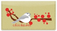 Click on Chickadee Checkbook Cover For More Details