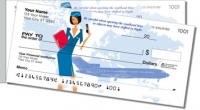 Click on Flight Attendant Side Tear Personal Checks For More Details