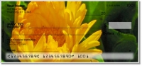 Click on Yellow Flower Personal Checks For More Details