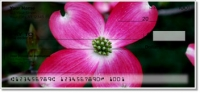 Click on Pink Flower Personal Checks For More Details