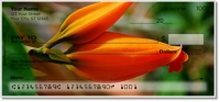 Click on Orange Flower Personal Checks For More Details