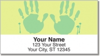 Click on Hand & Footprint Address Labels For More Details