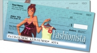 Click on Fabulous Fashionista Side Tear Personal Checks For More Details