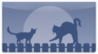 Click on Cat Nightlife Checkbook Cover For More Details