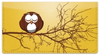 Click on Cartoon Owl Checkbook Cover For More Details