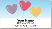 Click on Heart Balloon Address Labels For More Details