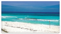 Click on Caribbean Beach Checkbook Cover For More Details