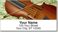 Click on Musical Instrument Address Labels For More Details
