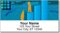 Click on Business Executive Address Labels For More Details