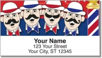 Click on Barbershop Quartet Address Labels For More Details