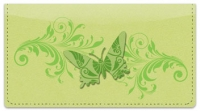 Click on Butterfly Print Checkbook Cover For More Details