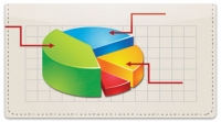 Click on Business Chart Checkbook Cover For More Details