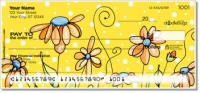 Click on Orange Daisies Personal Checks For More Details