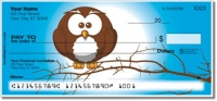 Click on Cartoon Owl Personal Checks For More Details