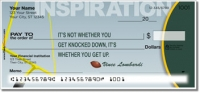 Click on Football Quote Personal Checks For More Details