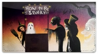 Click on Halloween Art Checkbook Cover For More Details
