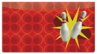 Click on Bowling Checkbook Cover For More Details