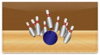 Click on Bowling Alley Checkbook Cover For More Details