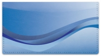 Click on Blue Wave Checkbook Cover For More Details