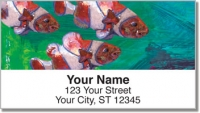 Click on Painted Clown Fish Address Labels For More Details