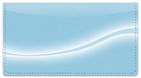 Click on Blue Swoosh Checkbook Cover For More Details