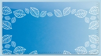 Click on Blue Leaf Border Checkbook Cover For More Details