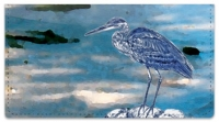 Click on Blue Heron Checkbook Cover For More Details
