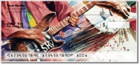 Click on Guitar Art 2 Personal Checks For More Details