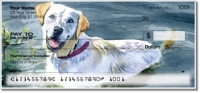 Click on Dog Artwork Personal Checks For More Details