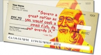 Click on Chinese Philosopher Side Tear Personal Checks For More Details