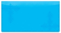 Click on Blue Corner Scroll Checkbook Cover For More Details
