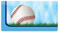 Click on Blue Baseball Fan Checkbook Cover For More Details