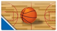 Click on Blue & Silver Basketball Checkbook Cover For More Details