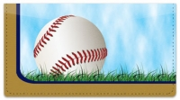 Click on Blue & Gold Baseball Fan Checkbook Cover For More Details