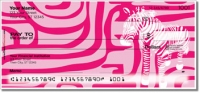 Click on Neon Animal Print Personal Checks For More Details