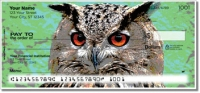 Click on Eyes of an Owl Personal Checks For More Details