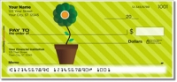 Click on Potted Flower Personal Checks For More Details