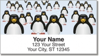 Click on Cute Penguin Address Labels For More Details