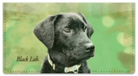 Click on Black Lab Checkbook Cover For More Details