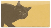 Click on Black Cat Checkbook Cover For More Details