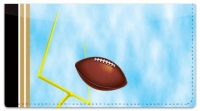 Click on Black & Gold Football Fan Checkbook Cover For More Details
