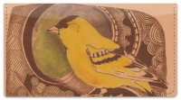 Click on Bird Drawing Checkbook Cover For More Details