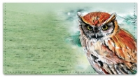 Click on Bird Artwork Checkbook Cover For More Details