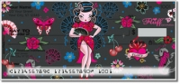 Click on Geisha Girl Personal Checks For More Details