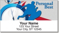 Click on Track & Field Address Labels For More Details