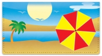 Click on Beach Umbrella Checkbook Cover For More Details