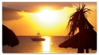 Click on Beach Hut Resort Checkbook Cover For More Details