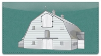 Click on Barn Style Checkbook Cover For More Details