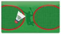 Click on Badminton Checkbook Cover For More Details