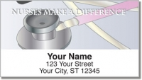 Click on Nurse Address Labels For More Details